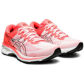 asics Gel-Kayano 27 Tokyo Shoes Women, white/sunrise red